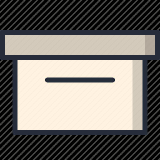 box, container, deposit, parcel, storage icon