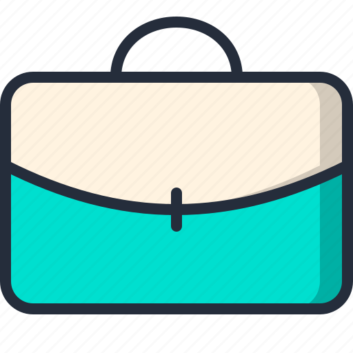 briefcase, businessman, document, handbag icon