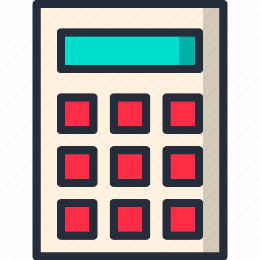 add, calculator, divide, math, minus, multiply, plus icon