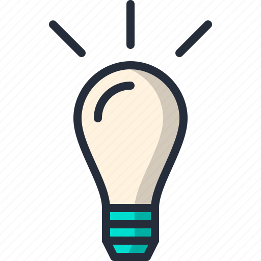 Bulb, creativity, idea, lamp, light icon - Download on Iconfinder