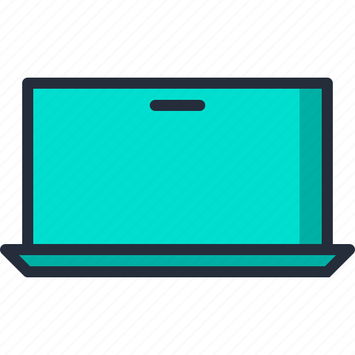 computer, electronic, laptop, notebook, portable icon