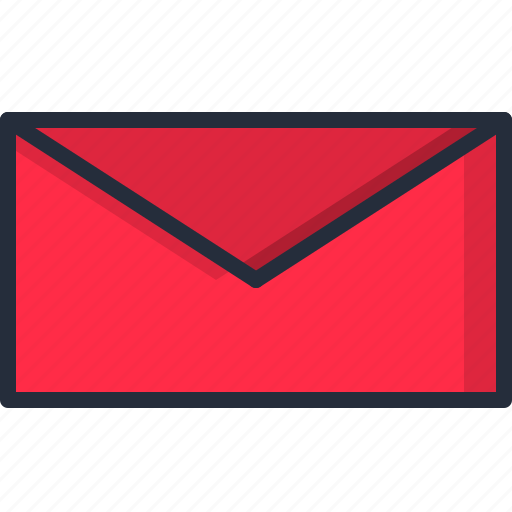 email, letter, mail, paper icon