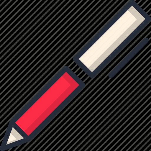 document, paper, pen, write icon