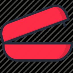 document, paper, sheet, staple, stapler icon