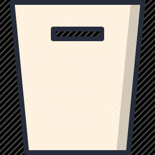 box, deposit, garbage, trax icon