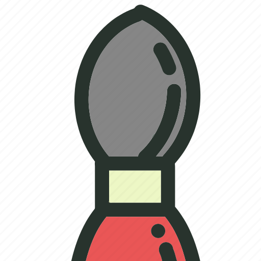 art, brush, pen, pencil, school, supplies, tool icon