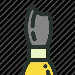 art, brush, pen, pencil, school, supplies, tool icon
