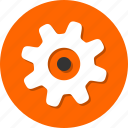 configuration, control, gear, preferences, setting, tool icon