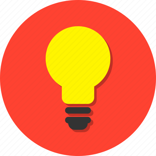 bright, electricity, idea, lamp, light, luminous, vivid icon