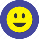 avatar, emoji, emoticon, face, happy, profile, smile icon