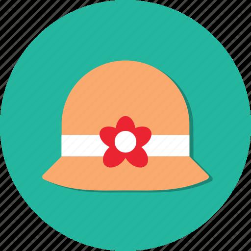 circle, fashion, general, hat, style, woman icon
