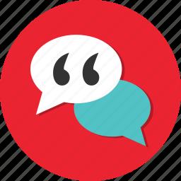 bubble, chat, comment, communication, conversation, discussion icon