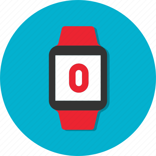 circle, general, watch, wristwatch icon