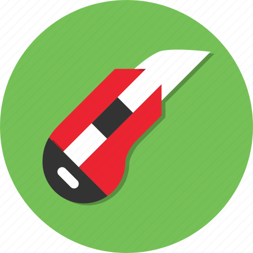 circle, cutter, general, knife, sharp icon