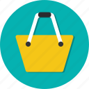 bag, buy, circle, general, sell, shop, shopping icon