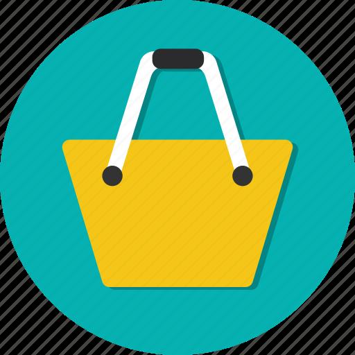 bag, buy, circle, general, sell, shop, shopping icon