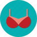 bra, circle, fashion, general, underwear, woman icon