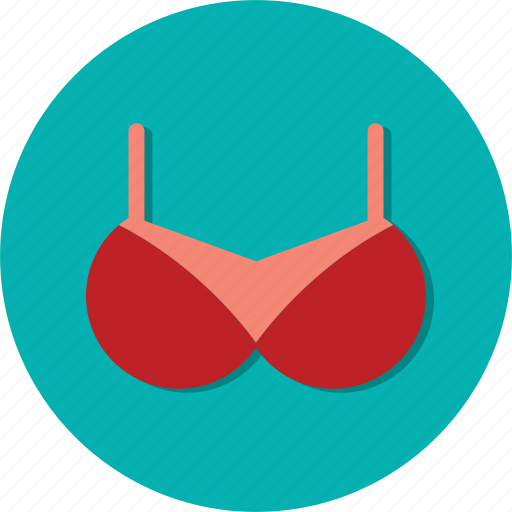bra, circle, fashion, general, underwear, woman icon