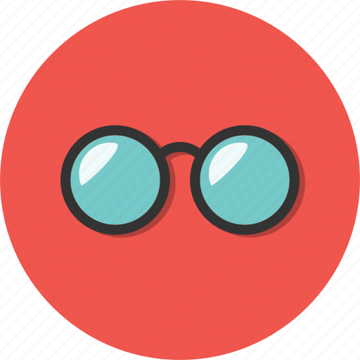 eye, eyes, glasses, look, radiance, see, ultraviolet icon