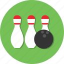 ball, bowling, circle, general, hobby, sport icon