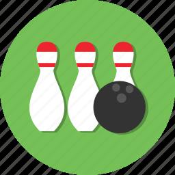 ball, bowling, circle, general, hobby, sport icon