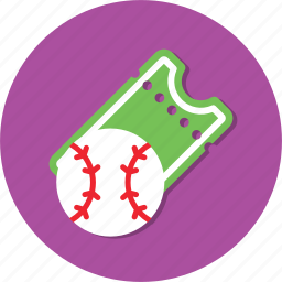 ball, circle, general, ticket, watch icon