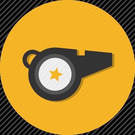 Circle, general, alert, sound, warning, whistle icon - Download on Iconfinder