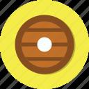circle, general, wood icon