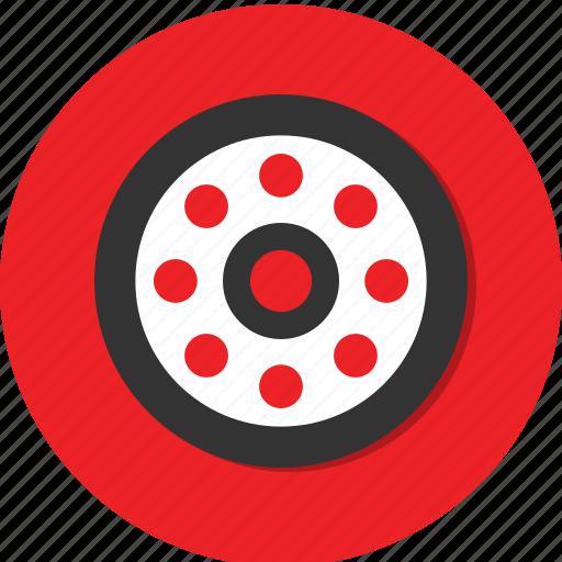 bullet, circle, general icon