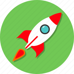 rocket, space, speed, technology, turbo icon