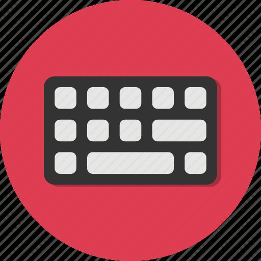 circle, computer, general, keyboard, tool icon