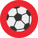 ball soccer, circle, football, general, hobby, sport icon