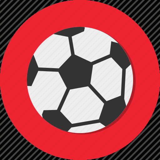 ball soccer, circle, football, general, hobby, sport icon