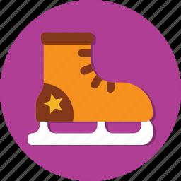 fashion, foot, footwear, ice, shoes, sock, sport icon