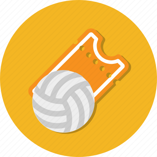 ball, circle, general, sport, ticket icon