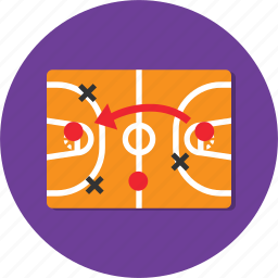 circle, football, general, soccer, strategy icon