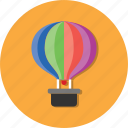 balloon, carrier, mode, transport, transportation, vehicle icon