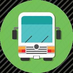 bus, car, carrier, mode, transport, transportation, vehicle icon