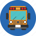 bus, car, carrier, mode, transport, transportation, vehicle icon