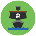 ocean, ship, transport, transportation icon