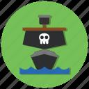 ocean, ship, transport, transportation icon