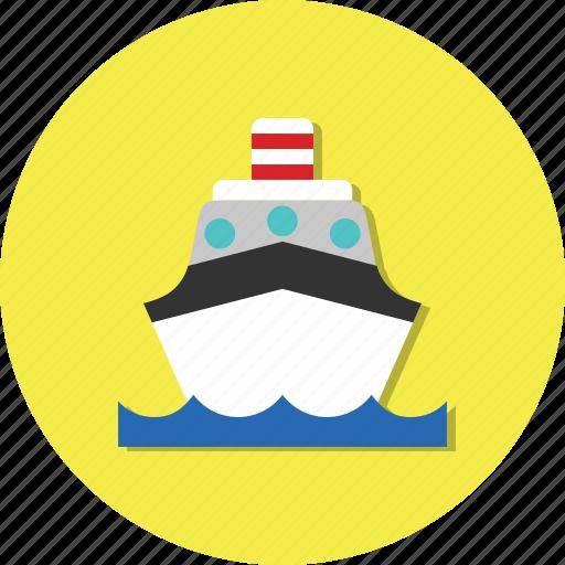 carrier, mode, ship, transport, transportation icon