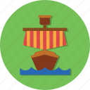 boat, ocean, ship, transportation, vehicle icon