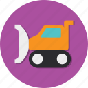 tractor, transport, transportation, vehicle, wheel icon