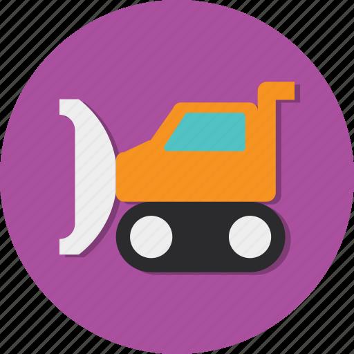 tractor, transport, transportation, vehicle, wheel icon