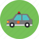 car, carrier, mode, police, transport, transportation, vehicle icon