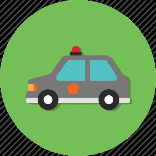 car, carrier, mode, police, transport, transportation, vehicle icon