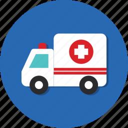 blood, car, carrier, mode, transport, transportation, vehicle icon
