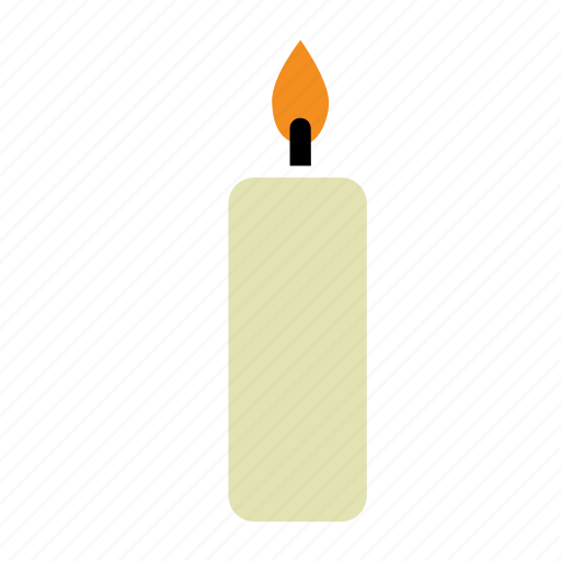 candle, fire, flame, romantic, spa icon