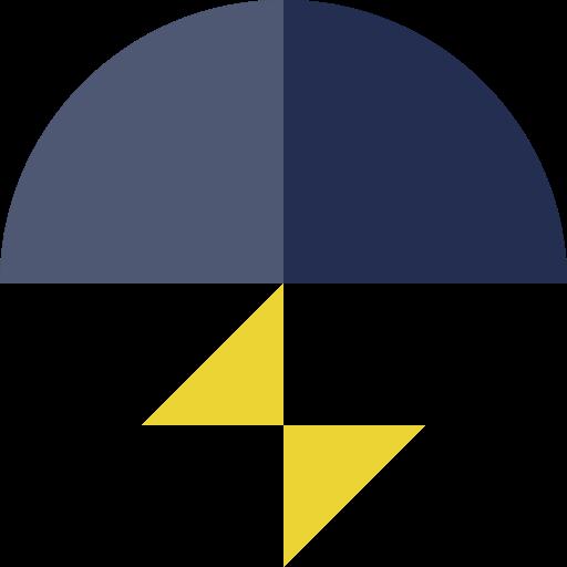 electric, lightning, storm icon